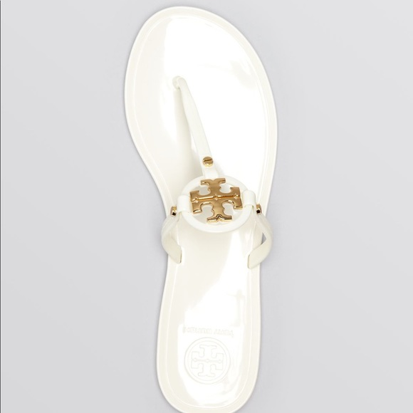 b2f7624d6f7e Tory Burch White Jelly Sandals. M 5b7a27e1d6716ac68c77262f. Other Shoes ...